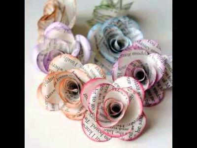 DIY paper craft ideas