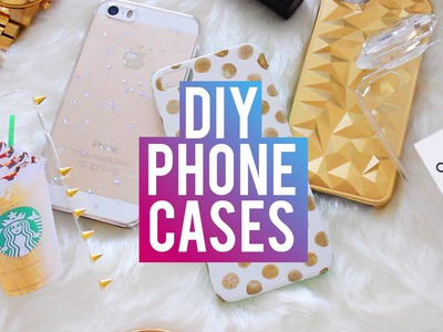 DIY Phone Cases | Chanel Perfume, Starbucks, Brandy Melville & More!