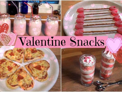 DIY Quick, Easy and Tasty Valentine's Day Snacks