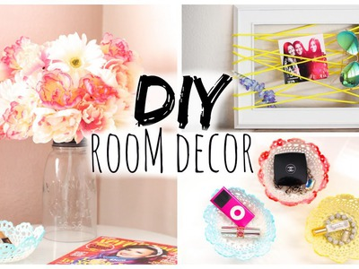 DIY Room Decor for Cheap! Simple & Cute!