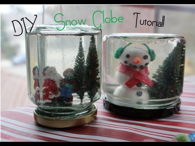 ❄DIY Snow Globe Tutorial!❄ (CRAFTMAS)