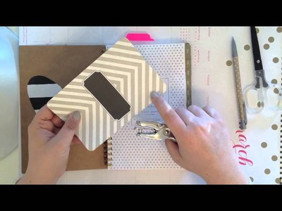 DIY Tutorial | Customize Your Spiral Planner or Notebook