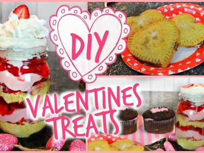DIY Valentine's Day Treats and Snacks!