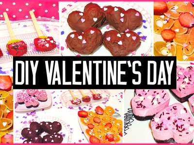 DIY Valentine's day treats! Easy & cute | Gift ideas for boyfriend, girlfriend.