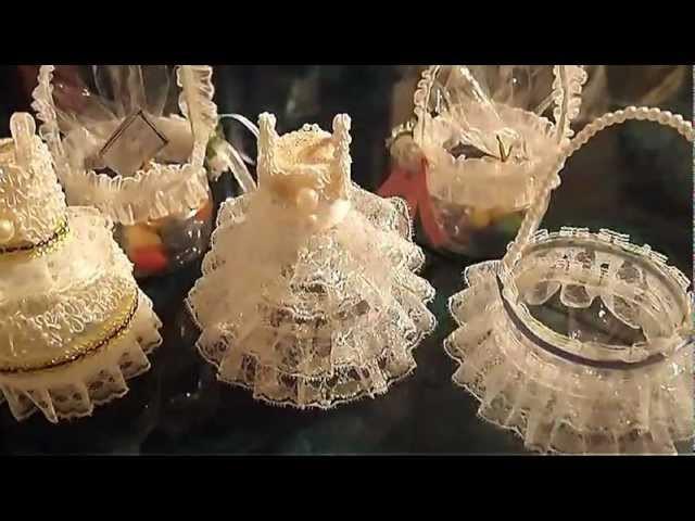 D.I.Y. Wedding Favors ideas.