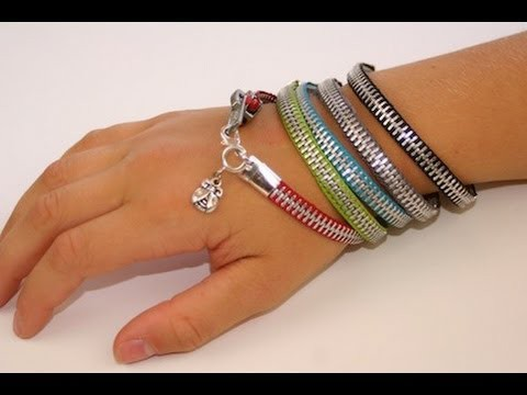 DIY: Zipper Bracelet | Back-to-School Fashion Ideas