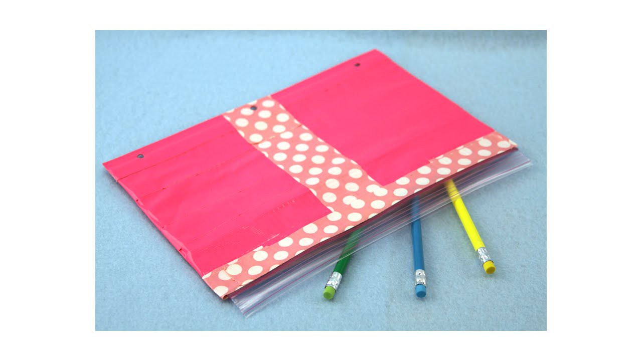 Duct Tape and Baggie Pencil Case|Sophie's World