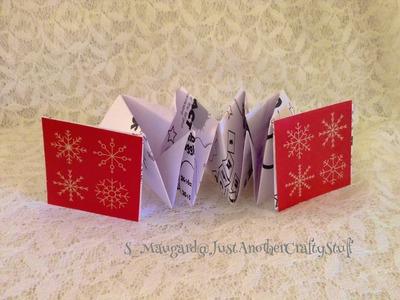 Easy DIY Accordion Book Tutorial (origami paper craft)