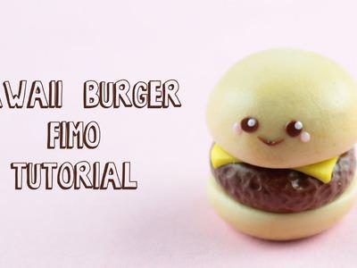 [Fimo Friday] Kawaii Burger Fimo Tutorial. Kawaii Burger polymer clay tutorial | Anielas Fimo