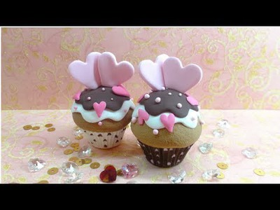 Fimo Tutorial- Valentine's Cupcake