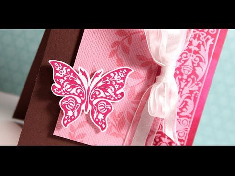 Finally Friday - Pink.Magenta Butterfly