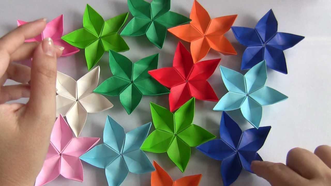 Artesanato Dos Estados Unidos ~ FLOR DE ORIGAMI SAKURA, My Crafts and DIY Projects