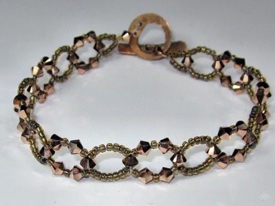 FREE Project: Simple Sparkle Bracelet