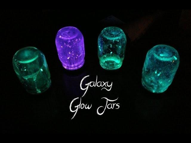 Galaxy Glow Jars | DIY Decorating Ideas