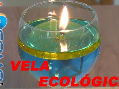 Hacer una vela con agua y aceite