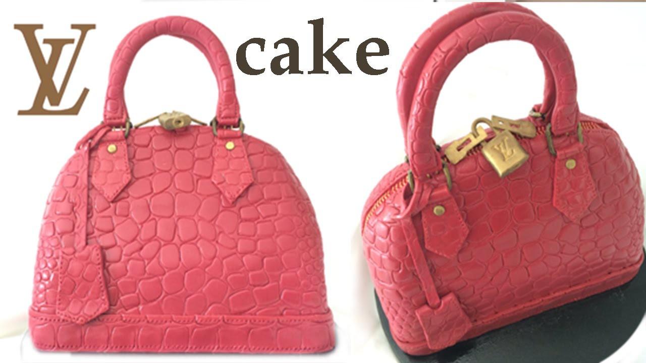 HAND BAG CAKE How To Cook That Ann Reardon Louis Vuitton