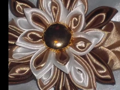 Hand Made Kanzashi Tsumami Flowers, Wedding Accessories