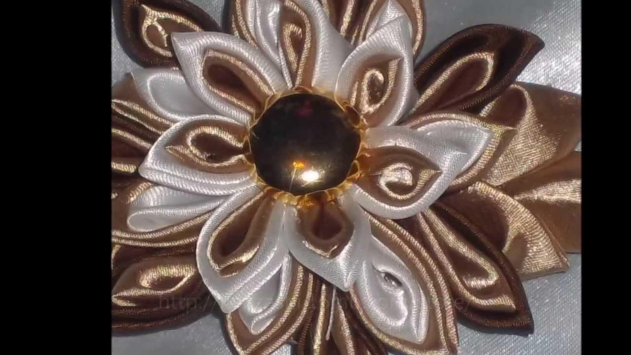 Hand Made Kanzashi Tsumami Flowers, Wedding Accessories