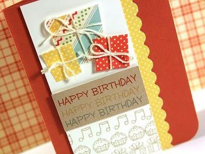 Happy Birthday - Make a Card Monday #136