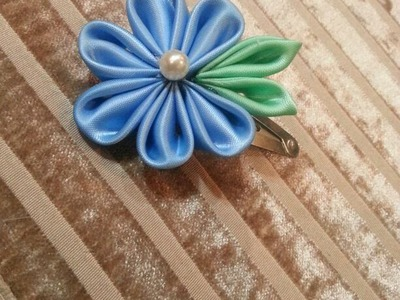 * Homemade Hair Accessories - Hair Pins - Tutorial .