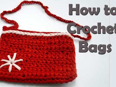 How to Crochet Bags  DIY