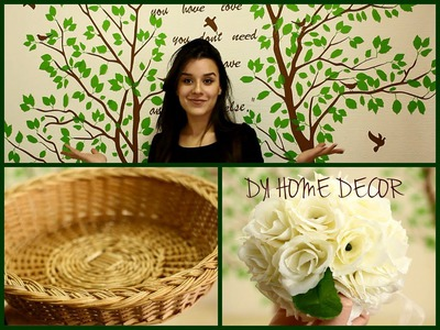 How to decorate an empty wall ♥ DIY Home Decor, Easy and Affordable