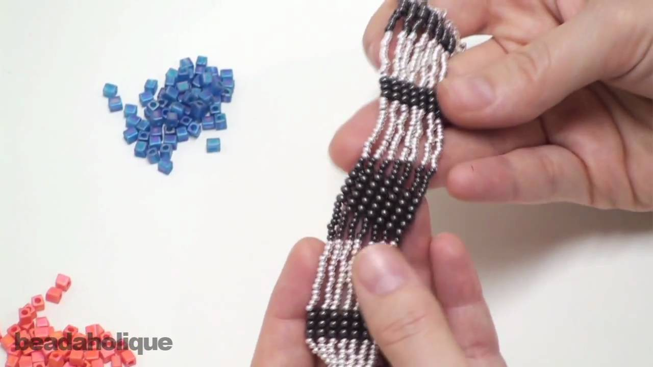 How to Do Square Stitch Bead Weaving