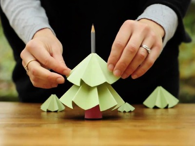 How to make a Christmas Tree from paper
