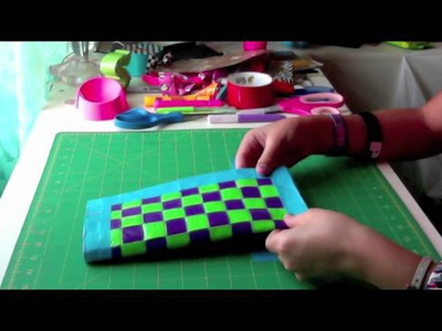 How to Make a Duct Tape Woven Purse