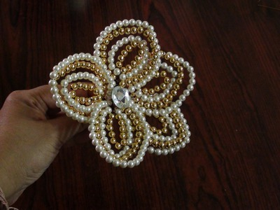 How to make a pearl flower