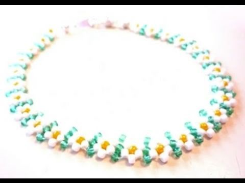How to Make a Vertical Spacer Daisy Chain Bracelet -- Jewelry-making Tutorial