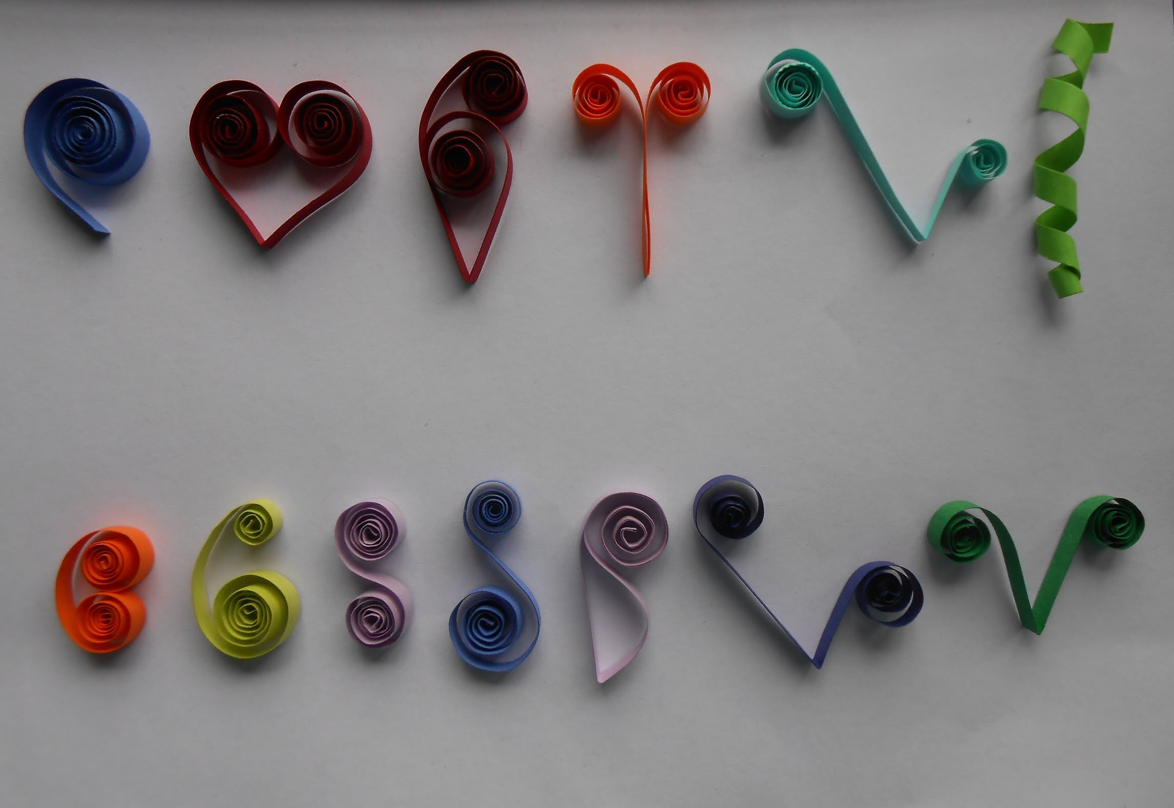 How to make basic quilling scrolls tutorial part 2 for for Quilling how to