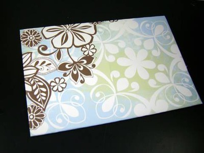 How to make Decorative Envelope - EP