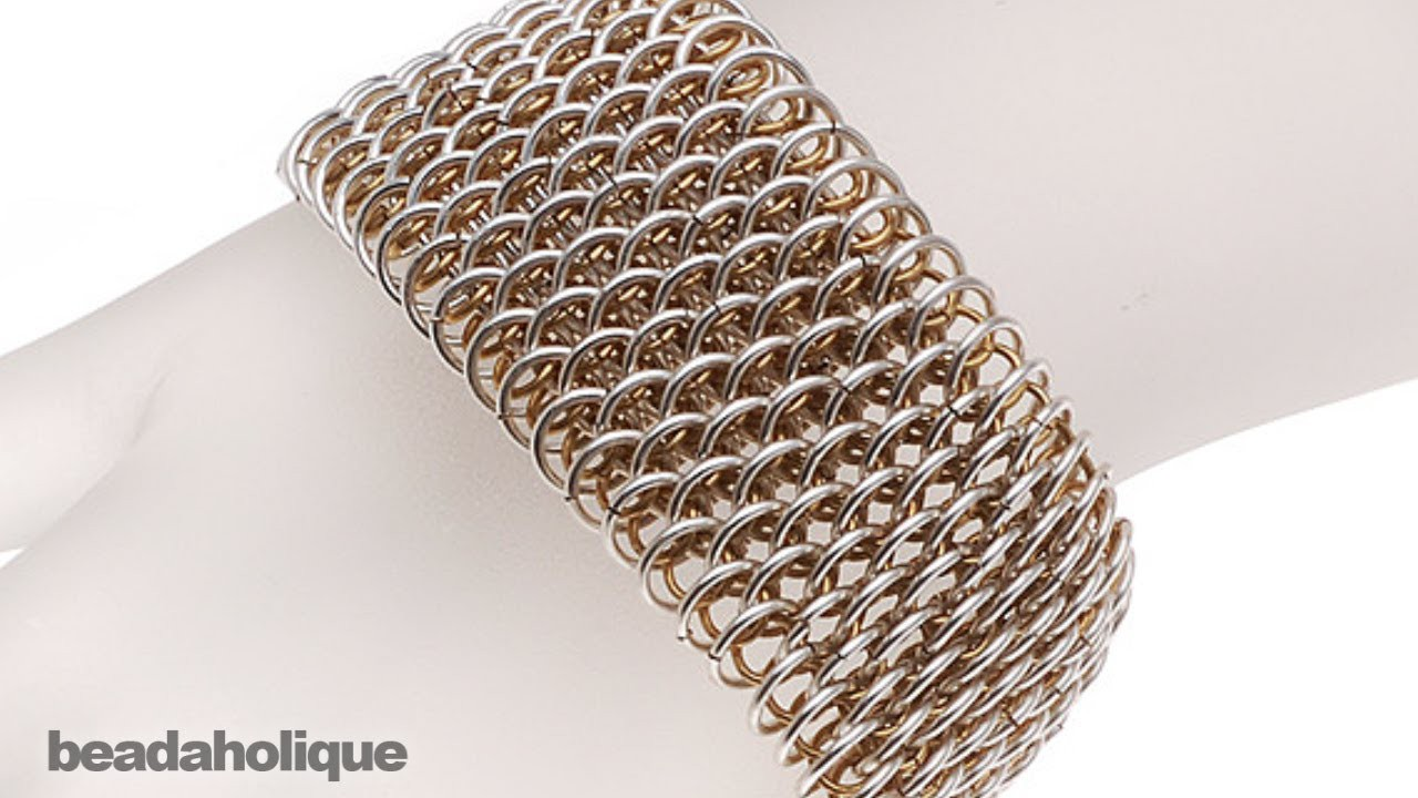 How to Make Dragonscale Chain Maille