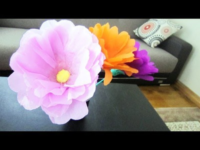 How to make giant flowers using plastic bottles  - Recycling - EP