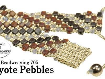 "How to Make "" Peyote Pebbles "" Bracelet"