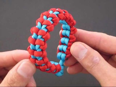 How to Make the Bound Endless Falls (Paracord) Bracelet by TIAT