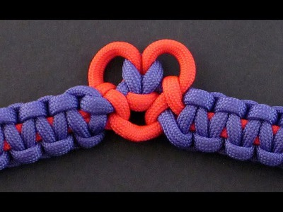 How to Make the Heart Burst Bar (Paracord) Bracelet by TIAT