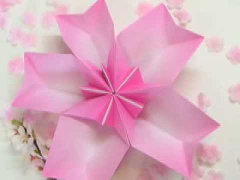 Ku-Ku ORIGAMI Cherry Blossom Dish (Plato de Cerezo)