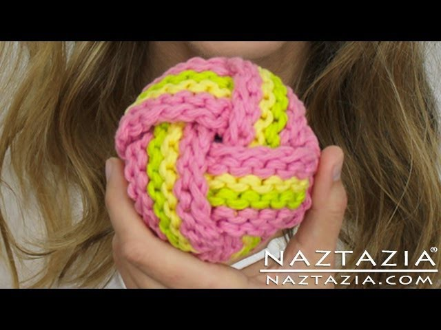 Learn How to Crochet & Knit a Ball Scrubbie (Scrubbies, Scrubbers, Tawashi, Chinese Knot Knots)
