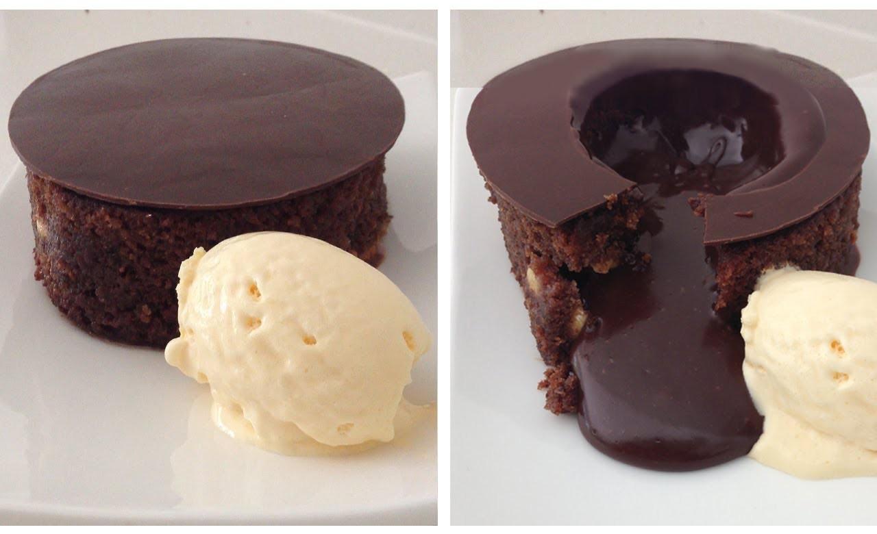 Magic Chocolate Lava Cake Dessert Recipe HOW TO COOK THAT chocolate fondant Ann Reardon