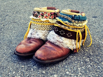 Mr. Kate DIY Boho Boots Tutorial