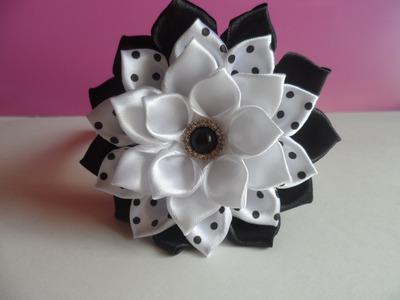 Ободок с Цветком на Первое Сентября. Headband with flower on the First of September