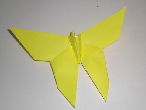 Origami Butterfly by Yoshizawa - tutorial