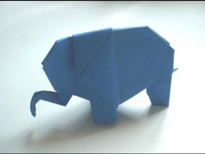 Origami: Elephant