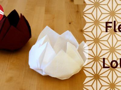 Origami - Fleur de lotus - Lotus Flower