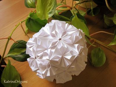 Origami ❀ Loop ❀ Kusudama