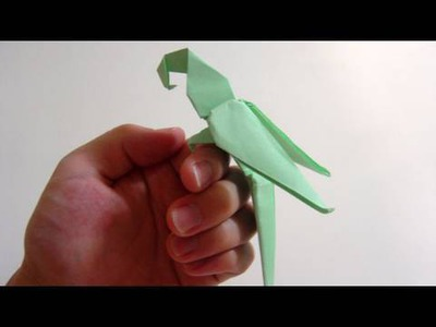 Origami Macaw Parrot of Manuel Sirgo