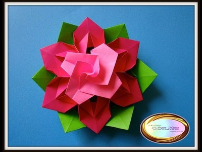 Origami Maniacs 116: Beautiful Origami Flower