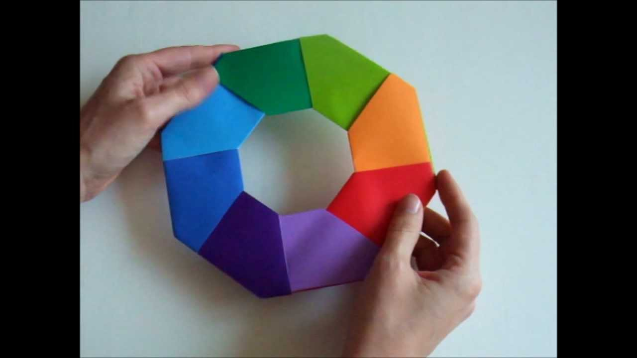Origami - modular - action origami - transforming star - tutorial - dutchpapergirl